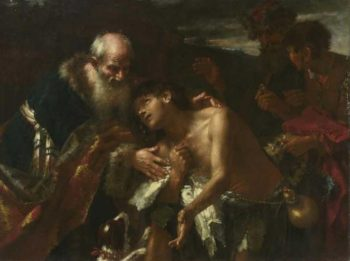 The Return of the Prodigal Son | Peter Brandl | oil painting