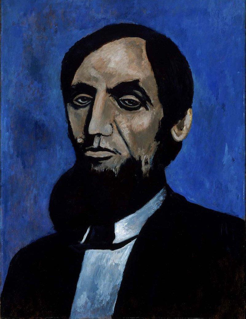 The Great Good Man 1942 | Marsden Hartley | oil painting