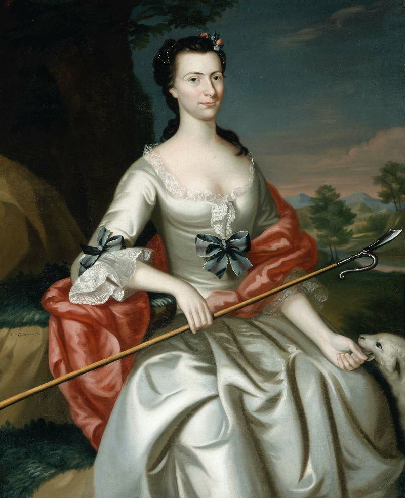 Ann Tyng Mrs Thomas Smelt 1756 | John Singleton Copley | oil painting