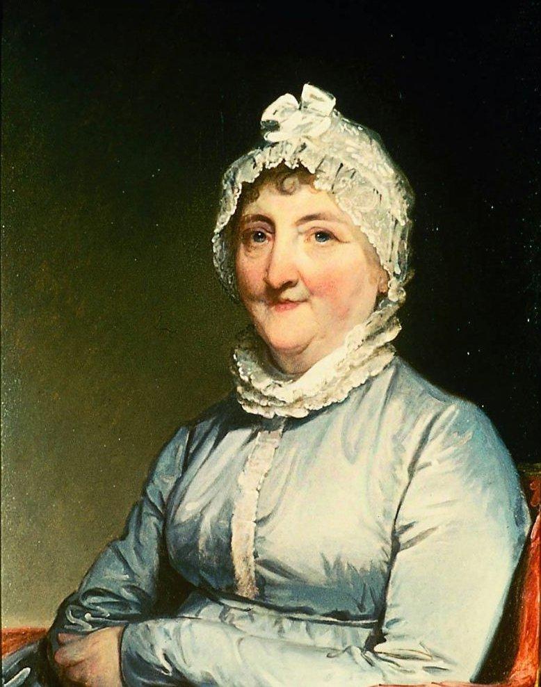 Mrs Paul Revere Rachel Walker 1813   Gilbert Stuart   oil painting
