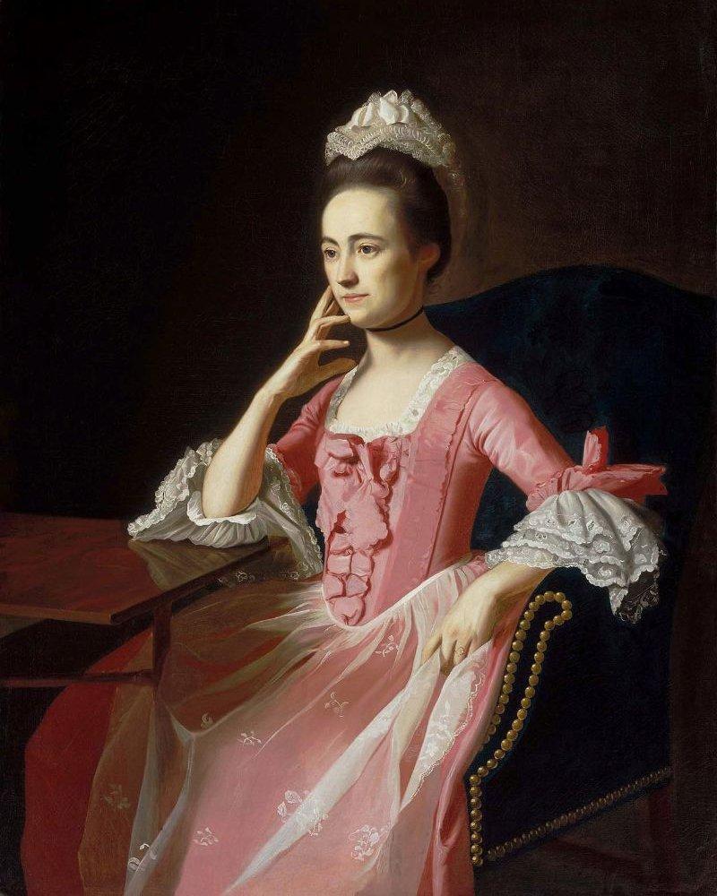 Dorothy Quincy Mrs John Hancock 1772 | John Singleton Copley | oil painting