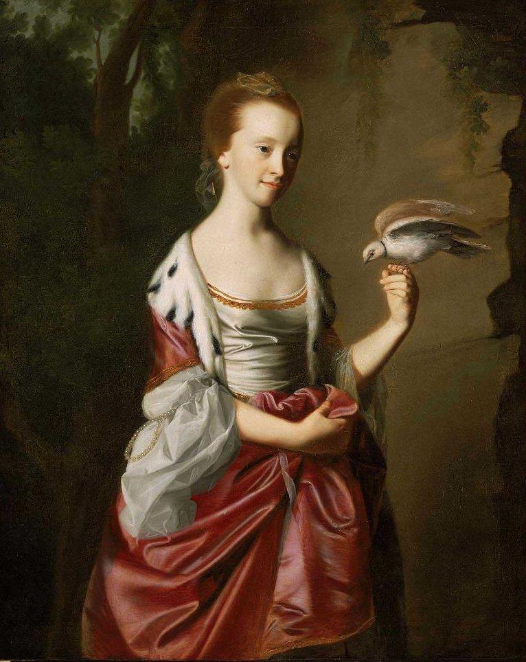 Elizabeth Ross Mrs William Tyng 1766 | John Singleton Copley | oil painting