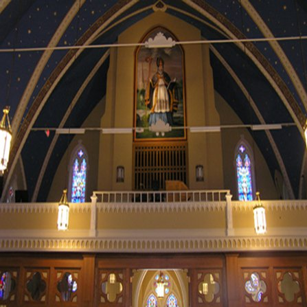 Very Large Religious Paintings Church in USA