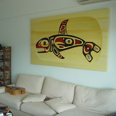 Gallery Wrapped Painting