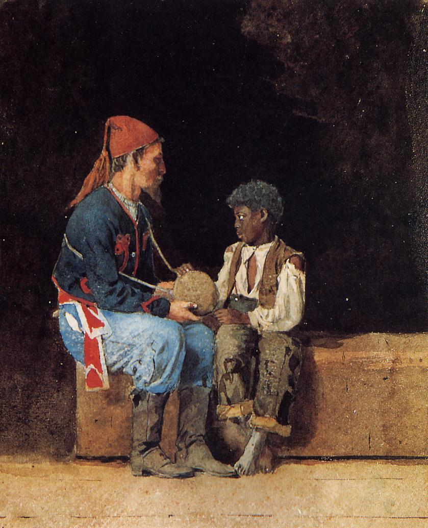 Contraband | Winslow Homer | oil painting