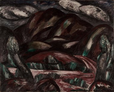 New Mexico Recollection | Marsden Hartley | oil painting