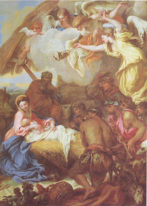 Adoration Of The Shepherds | Giovanni Benedetto Castiglione | oil painting