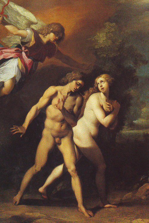 Adam And Eve Expelled From Paradise | Giuseppe Cesari | oil painting