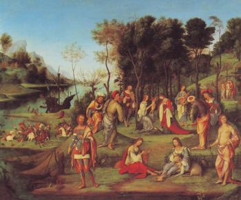Allegory Of The Court Of Isabella D Este | Lorenzo Costa | oil painting