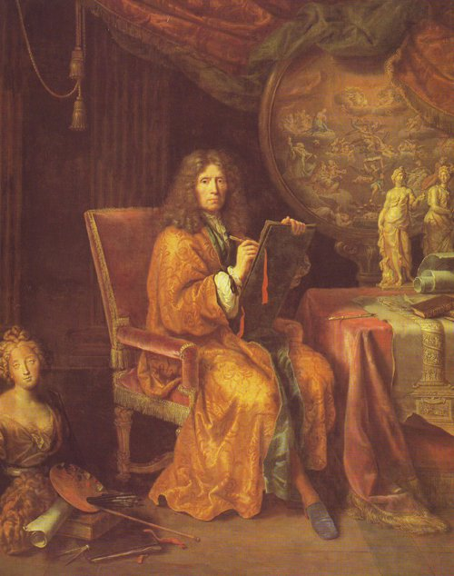 Portrait Of The Artist | Pierre Mignard | oil painting