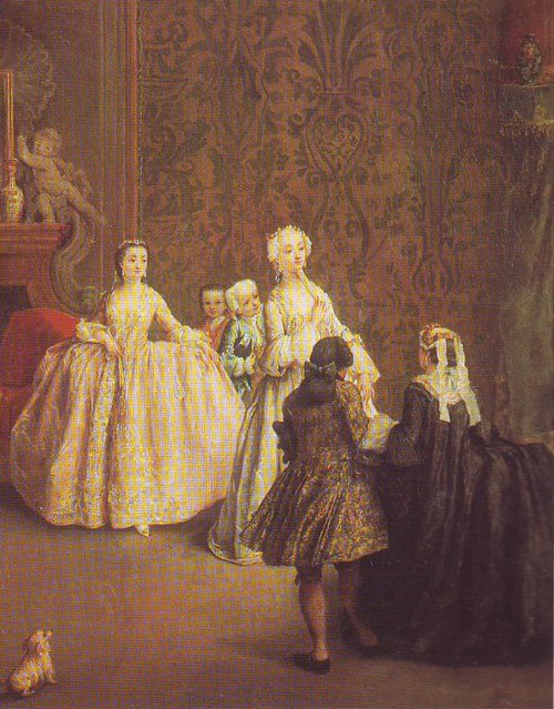 The Introduction | Pietro Longhi | oil painting