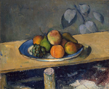 Apples Peaches Pears and Grapes1879OR1880 | Cezanne Paul | oil painting
