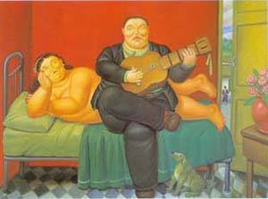 A Concert 1995 | Fernando Botero | oil painting