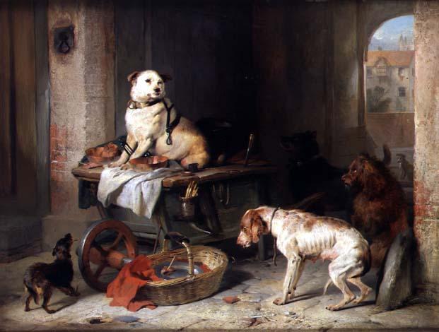 A Jack in Office | Sir Edwin Landseer | oil painting