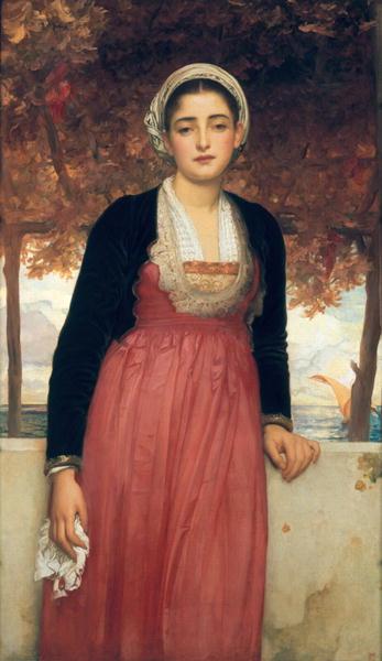 Amarilla   Frederic Leighton   oil painting