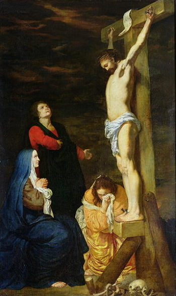 Christ on the Cross | Gerard de Lairesse | oil painting