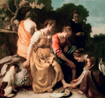 Diana and her Companions 1655 56 | Jan Vermeer | oil painting