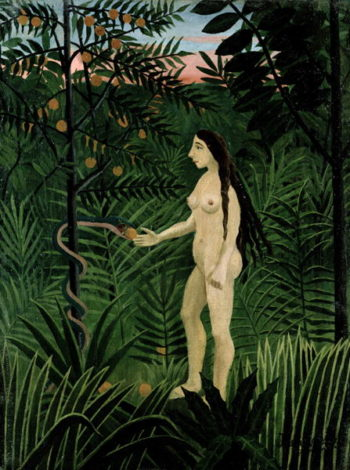 Eve 1906 07 | Henri J F Rousseau | oil painting