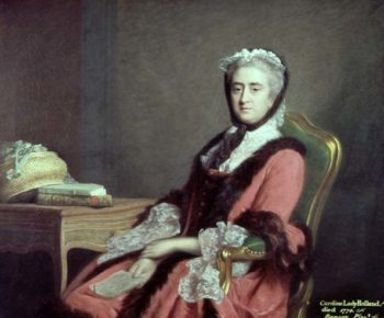 Lady Holland 1766 | Allan Ramsay | oil painting
