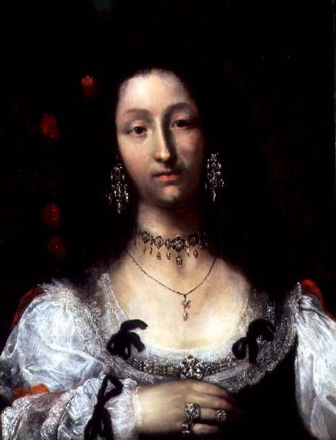 Portrait of a Lady | Girolamo Ferrabosco or Forabosco | oil painting