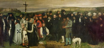 Burial at Ornans 1849 50 | Gustave Courbet | oil painting