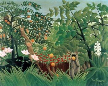 Exotic Landscape 1910 | Henri J F Rousseau | oil painting