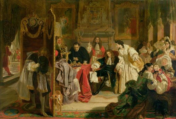 King James II Painting | Edward Matthew Ward Oil Paintings