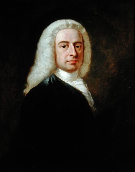 Portrait of Judge Christopher Robinson | Benjamin Wilson | oil painting