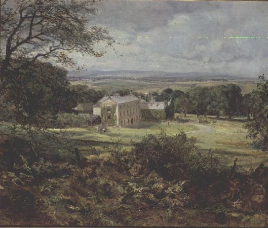 The Old Manor House Painting Heywood Hardy Oil Paintings