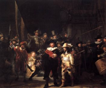 The Nightwatch 1642 | Rembrandt Harmenszoon Van Rijn | oil painting