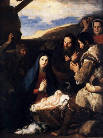 Adoration of the Shepherds 1650 | Jusepe De Ribera | oil painting