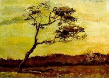 A Wind Beaten Tree | Vincent Van Gogh | oil painting