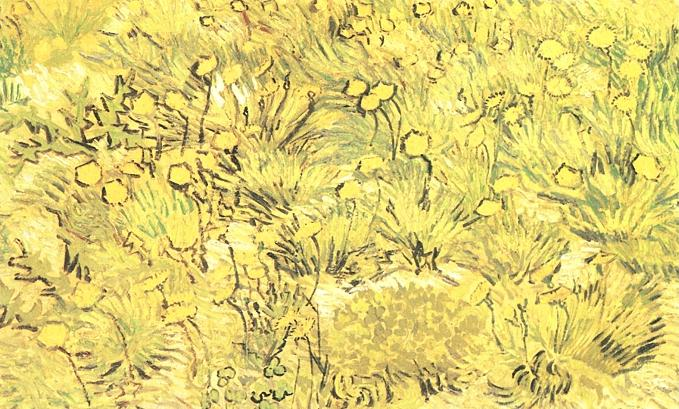 A field of yellow flowers painting vincent van gogh oil paintings a field of yellow flowers vincent van gogh oil painting mightylinksfo