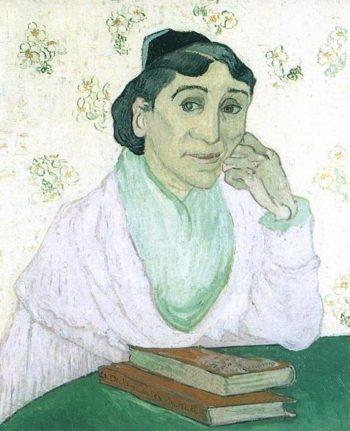 Arlesienne (Madame Ginoux) version 4 | Vincent Van Gogh | oil painting