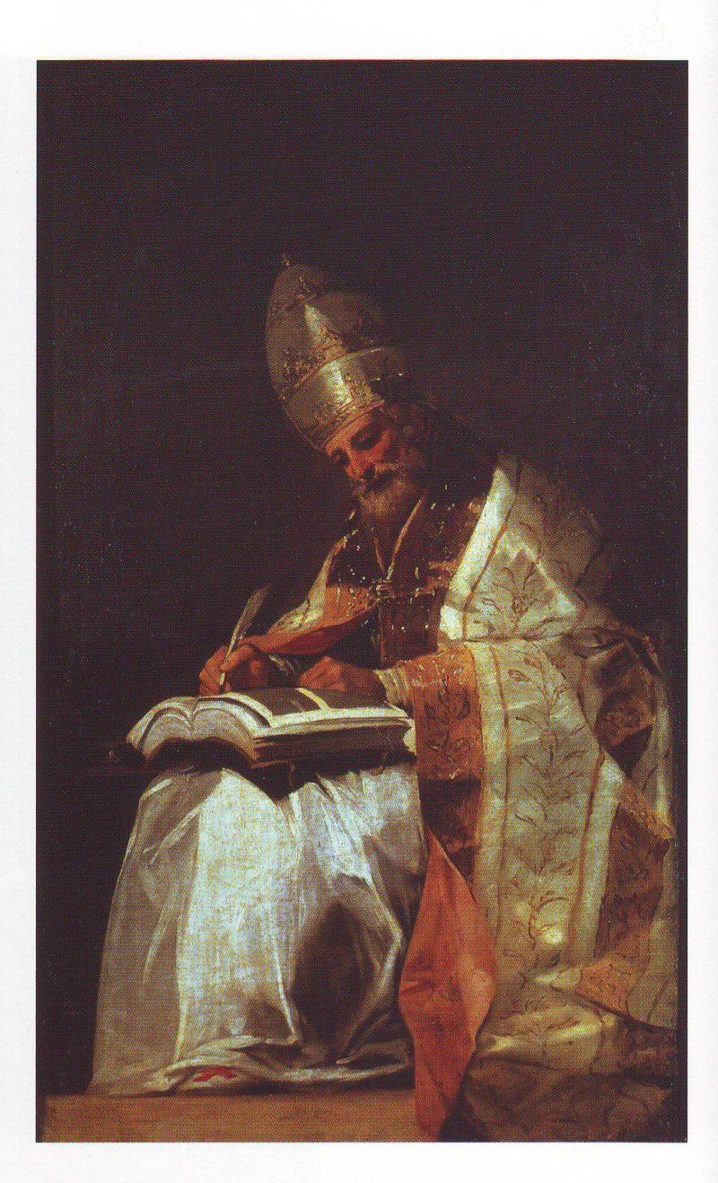 Saint Gregory the great | Francisco De Goya Y Lucientes | oil painting