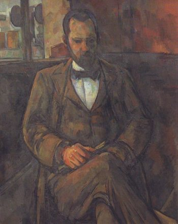 Ambroise Vollard | Paul Cezanne | oil painting