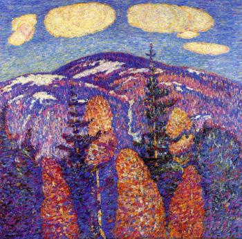 Cosmos The Mountains | Marsden Hartley | oil painting