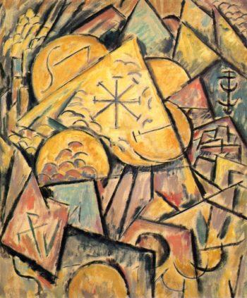 Musical Theme | Marsden Hartley | oil painting
