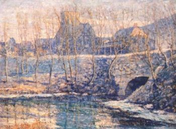 Misty Day in March | Ernest Lawson | oil painting