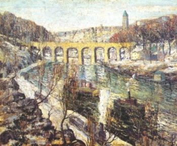 The Bridge | Ernest Lawson | oil painting