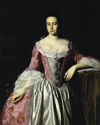 Eunice Dennie Burr   John Singleton Copley   oil painting