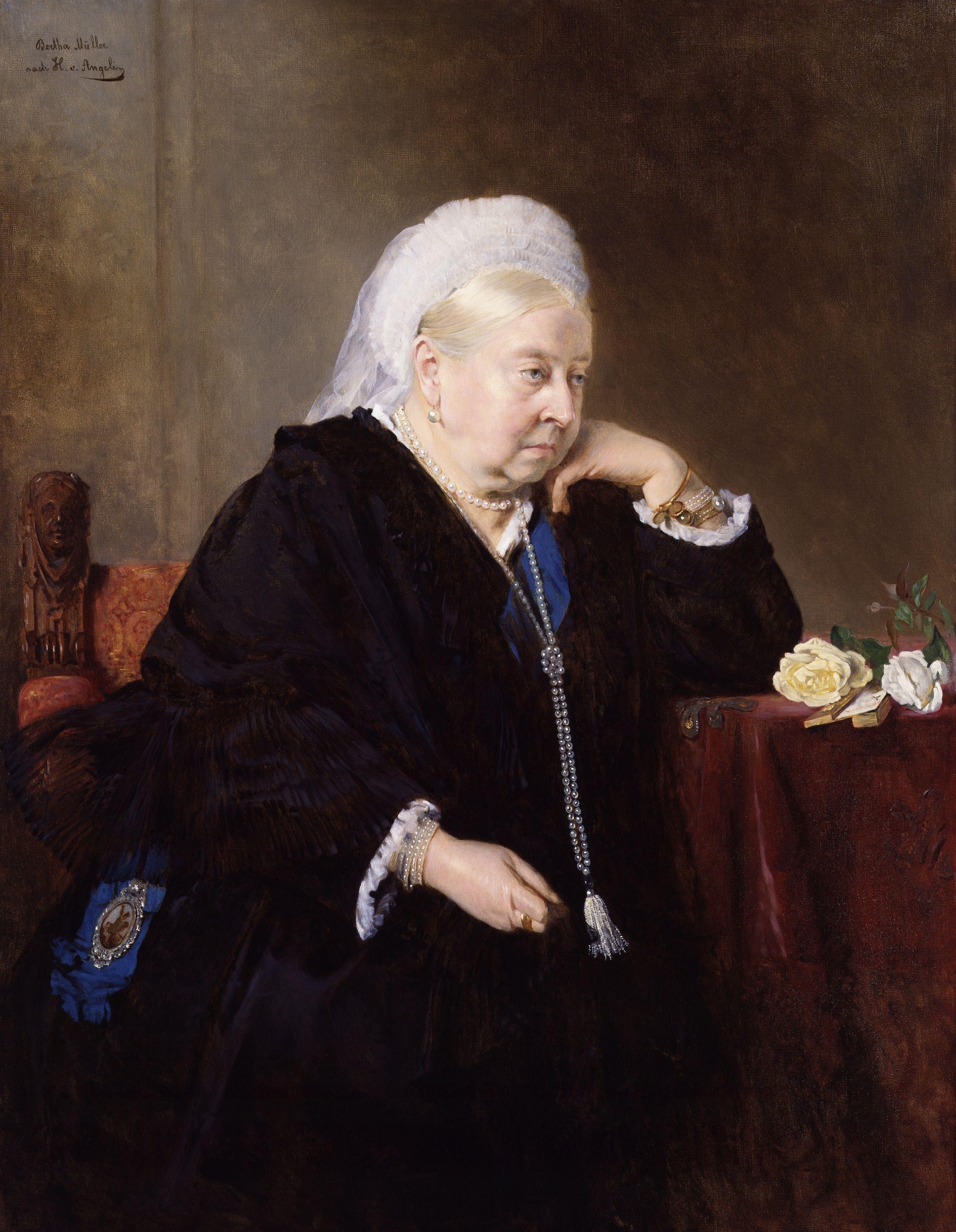 Portrait of Princess Victoria of Prussia (1840-1901