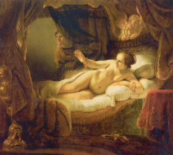 Danae   Rembrandt Harmensz. van Rijn   oil painting
