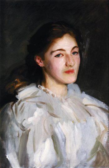 A Portrait of Cicely Horner | John Singer Sargent | oil painting