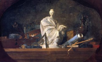 The Attributes of the Arts | Jean Baptiste Simeon Chardin | oil painting