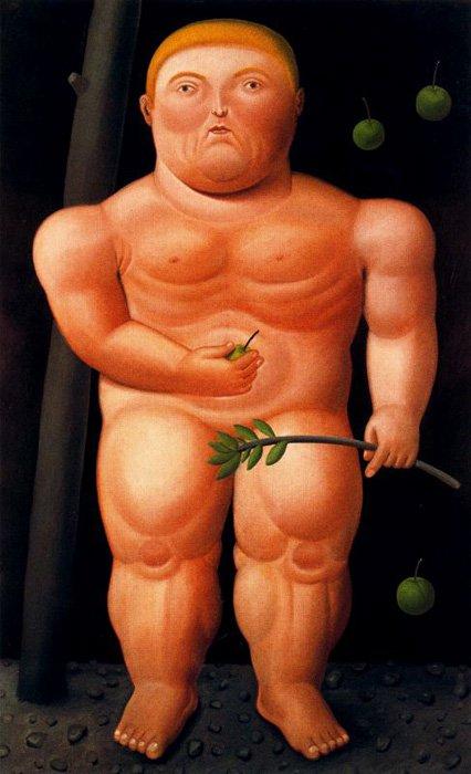 Adam | Fernando Botero | oil painting