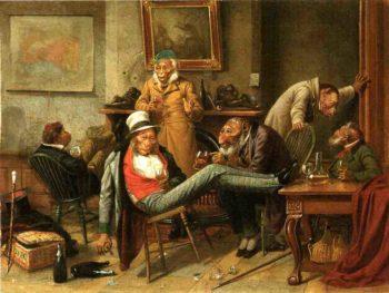 Pre Adamite   william holbrook beard   oil painting