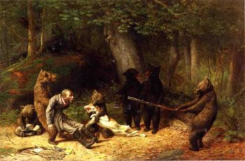 Making Game of the Hunter | william holbrook beard | oil painting