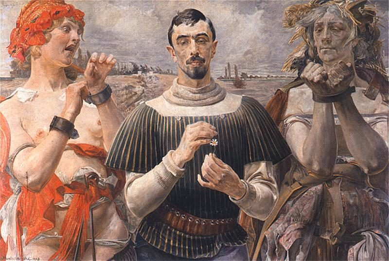Hamlet polski | Jacek Malczewski | oil painting