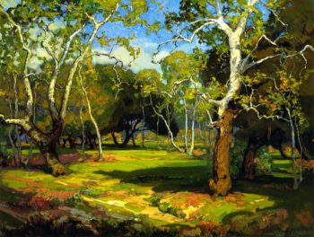 Amidst the Cool and Silence | Franz Bischoff | oil painting